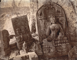 Miscellaneous sculptures from Hasanpur, Monghyr (Munger) District.